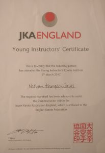 young instructors cert