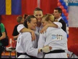 England Ladies Karate team